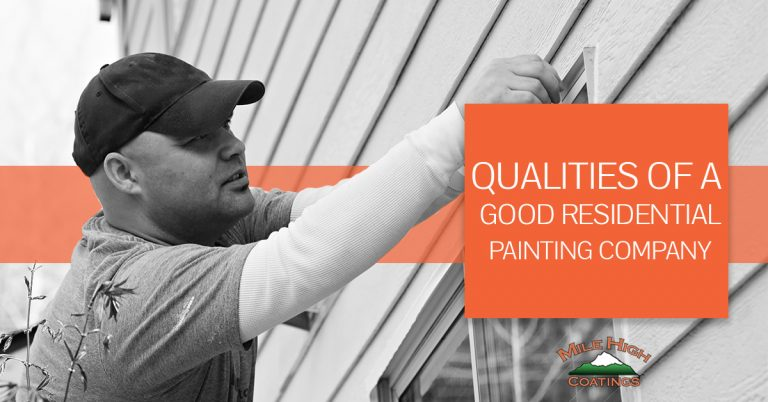 Qualities of the best painting company