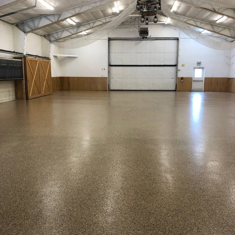 Loveland commercial epoxy floor