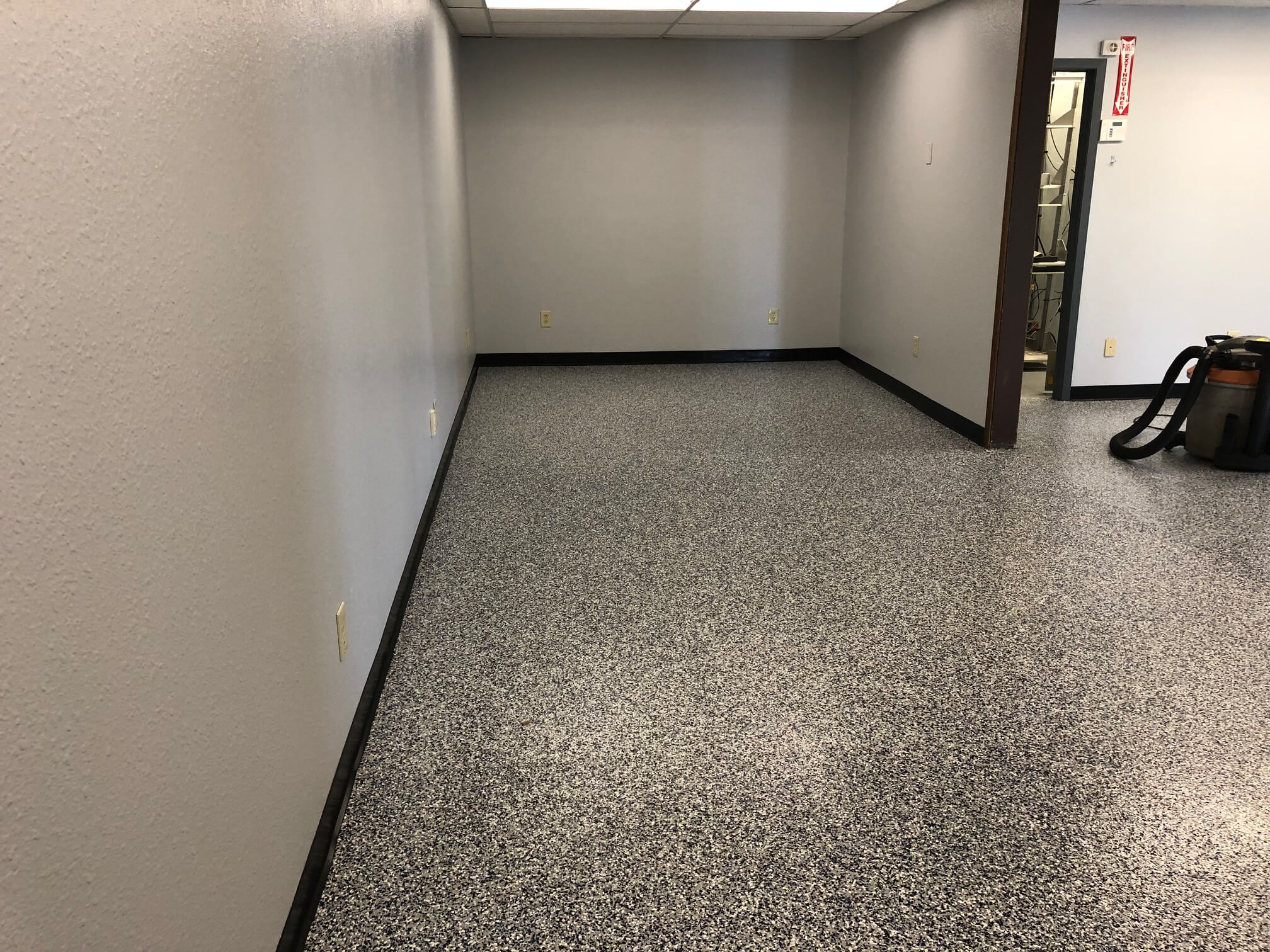 Fort Collins commercial epoxy floor